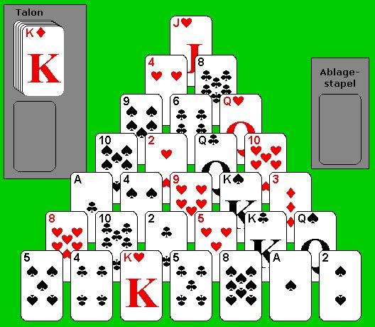kartenspiel pyramide